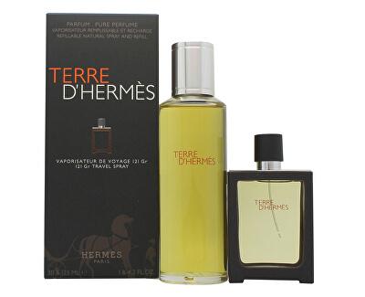 Terre D` Hermes - EDP 30 ml (újratölthető) + utántöltő 125 ml