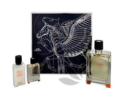 Hermes Terre D` Hermes - EDT 100 ml + EDT 12,5 ml + balsam după ras 40 ml