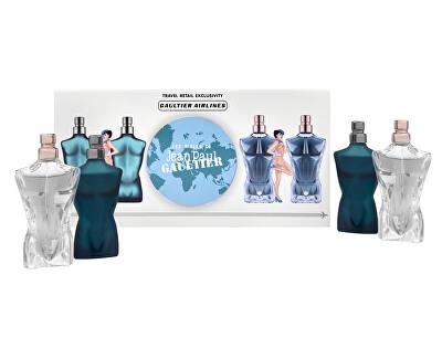 Kolekce miniatur Le Male - EDT 2 x 7 ml + EDP 2 x 7 ml