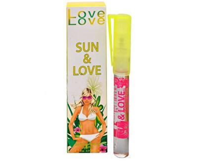 Love Love Sun & Love - EDT în stilou