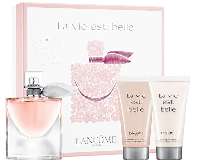 La Vie Est Belle - EDP 50 ml + sprchový gél 50 ml + telové mlieko 50 ml