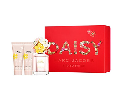 Daisy Eau So Fresh - EDT 75 ml + tělové mléko 75 ml + sprchový gel 75 ml