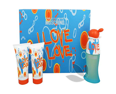 Cheap & Chic I Love Love - EDT 50 ml + tělové mléko 50 ml + sprchový gel 50 ml