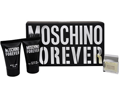 Moschino Forever - EDT 4,5 ml + balsam aftershave 25 ml + gel de duș 25 ml