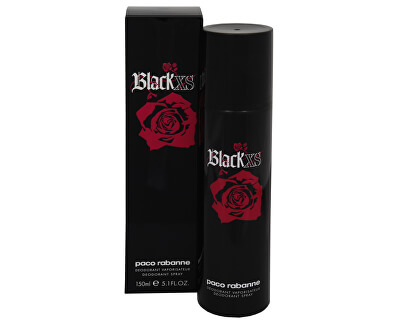Black XS - deodorant ve spreji
