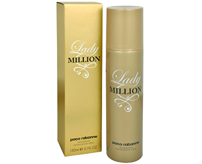 Lady Million - deodorant ve spreji