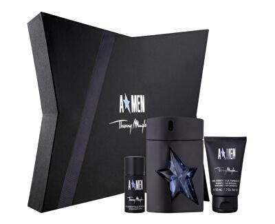 A*Men - EDT 100 ml + sprchový gel 50 ml + tuhý deodorant 20 ml
