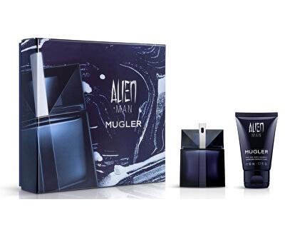 Alien Man - EDT 50 ml + shampoo per corpo e capelli 50 ml