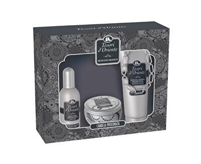 Tesori d´Oriente White Musk - EDP 100 ml + sprchový gel 250 ml + orientální svíčka