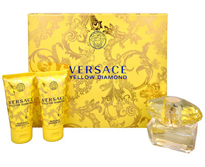 Yellow Diamond - EDT 50 ml + tělové mléko 50 ml + sprchový gel 50 ml