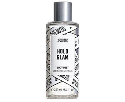 Pink Holo Glam - spray corpo