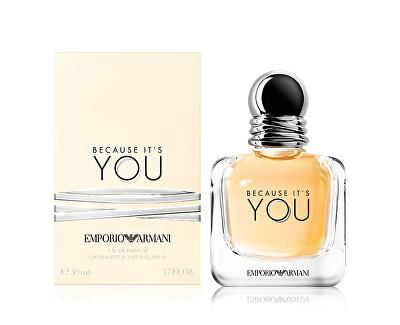 Emporio Armani Because It's You - EDP - SLEVA - bez celofánu, chybí cca 1 ml