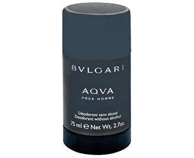 Bvlgari Aqva Pour Homme - tuhý deodorant - SLEVA - poškozený celofán