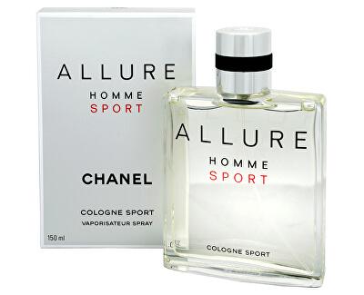 Chanel Allure Homme Sport - kolínska voda s rozprašovačom - ZĽAVA - bez celofánu, chýba cca 2 ml