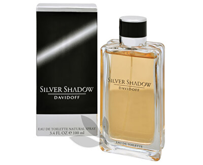 Davidoff Silver Shadow - EDT - DISCOUNT - cutie deteriorată