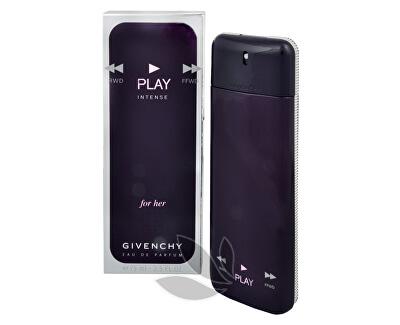 Givenchy Play For Her Intense - EDP - SLEVA - pomačkaná krabička, chybí cca 5 ml