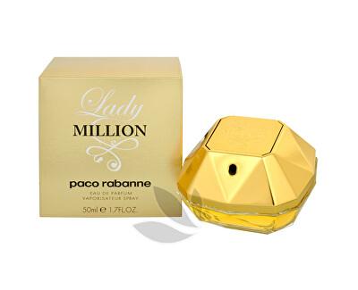 Paco Rabanne Lady Million - EDP - SLEVA - poškozená krabička