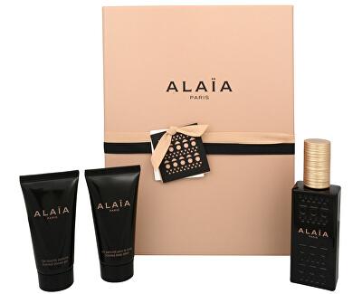 Azzedine Alaïa Alaïa Paris - EDP 50 ml + loțiune de corp 50 ml + gel de duș 50 ml