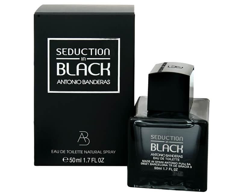 Antonio Banderas Seduction In Black - EDT
