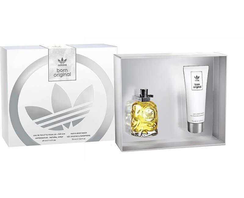 Adidas Born Original For Him - EDT 50 ml + sprchový gel 75 ml