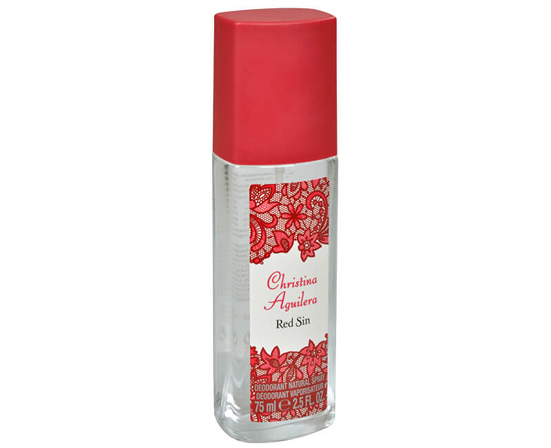 Christina Aguilera Red Sin - dezodorant s rozprašovačem