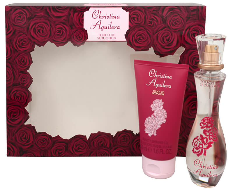 Christina Aguilera Touch of Seduction - EDP 30 ml + sprchový gel 50 ml