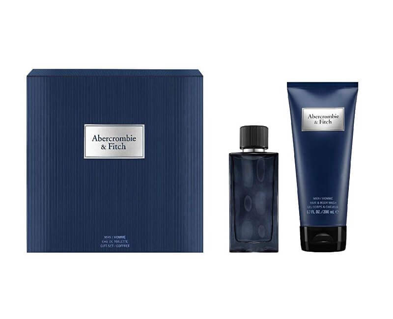 Abercrombie & Fitch First Instinct Blue - EDT 50 ml + sprchový gel 200 ml