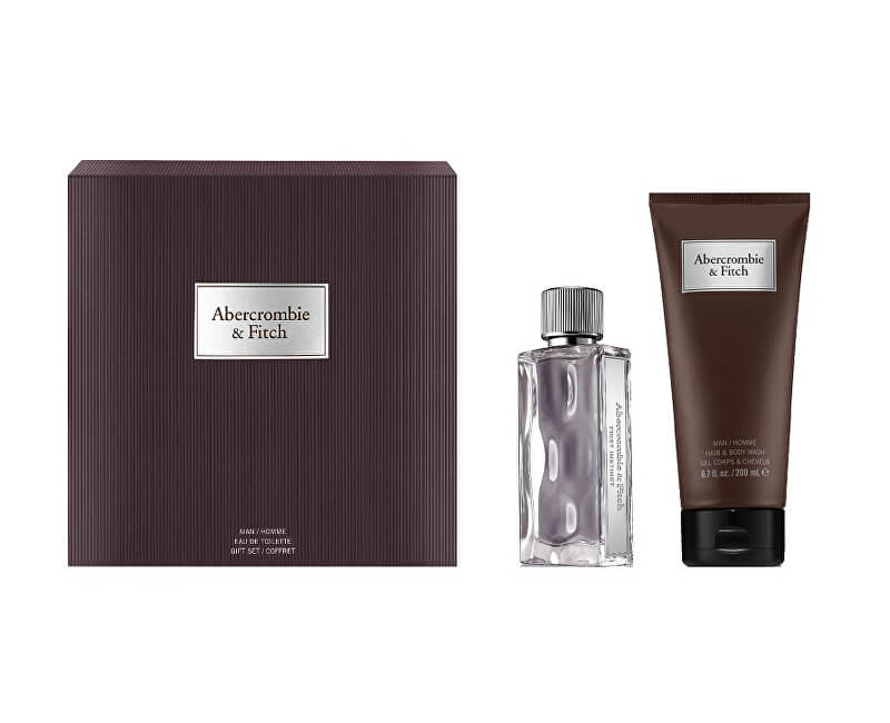 Abercrombie & Fitch First Instinct - EDT 50 ml + sprchový gel 200 ml