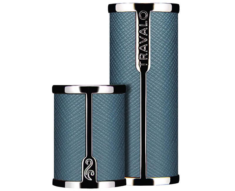 Travalo Milano - pouzdro na plnitelný flakon 5 ml (světle modrý)