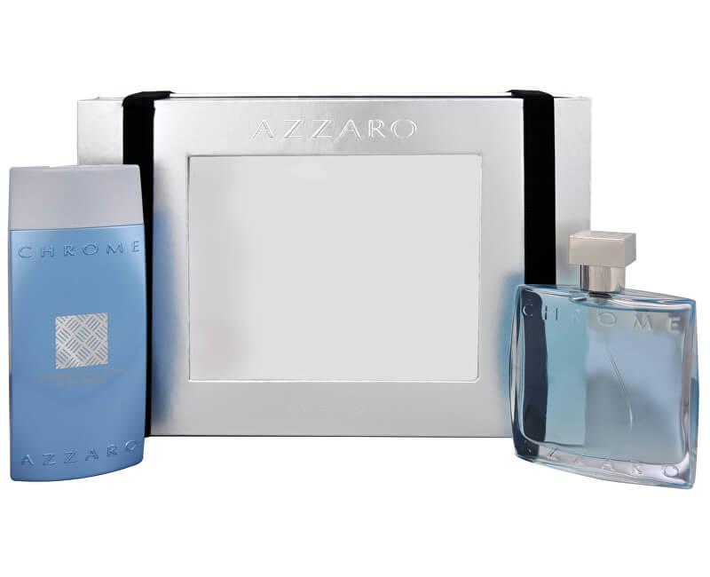 Azzaro Chrome - EDT 100 ml + gel de duș 200 ml
