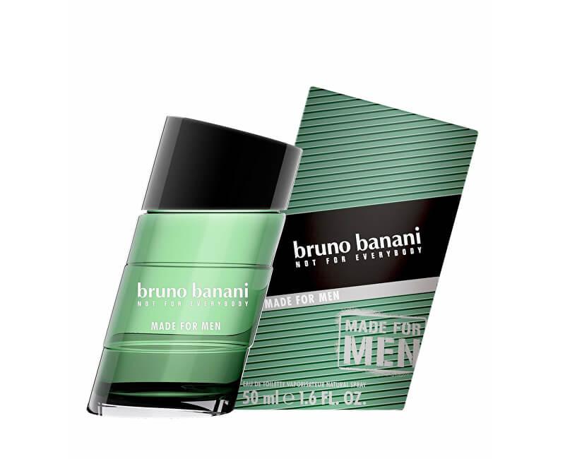 Bruno Banani Made For Men - EDT<br /><strong>Došlo k přebalu produktu.</strong>