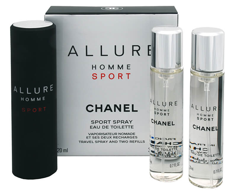 Chanel Allure Homme Sport - EDT (3 x 20 ml)