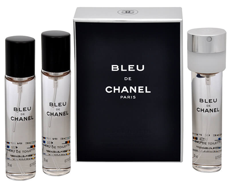 Chanel Bleu De Chanel - EDT náplň (3 x 20 ml)