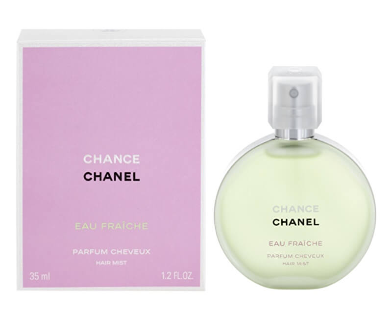 Chanel Chance Eau Vive - vlasová mlha