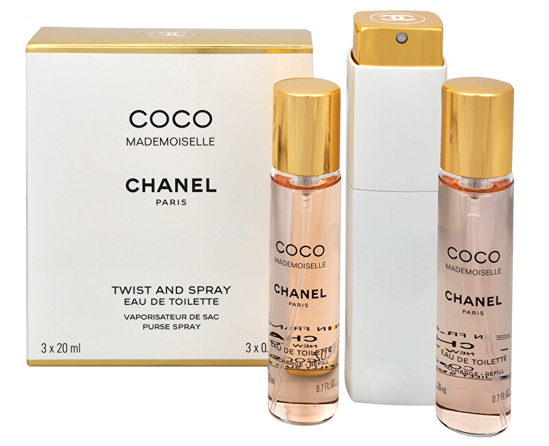 Chanel Coco Mademoiselle - EDT (3 x 20 ml)