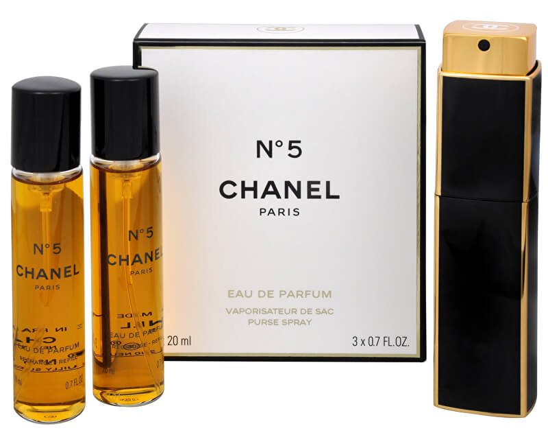 Chanel No. 5 - EDP (3 x 20 ml)