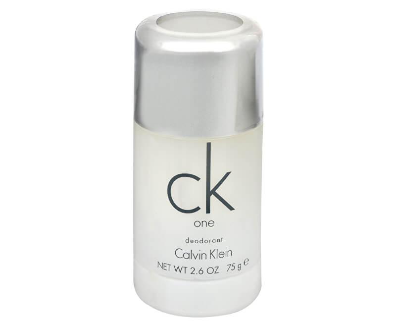 Calvin Klein CK One - tuhý deodorant