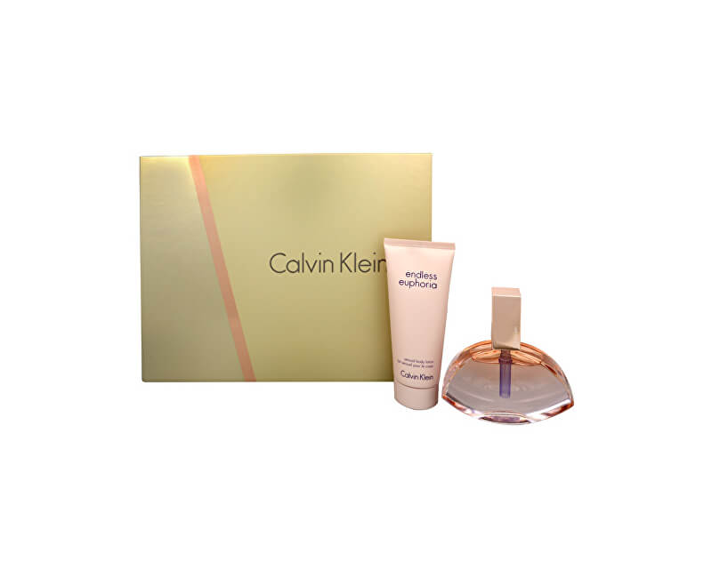 Calvin Klein Endless Euphoria - EDP 75 ml + tělový krém 100 ml