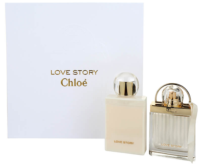 6d44f6ba01 Chloé Love Story - EDP 50 ml + telové mlieko 100 ml