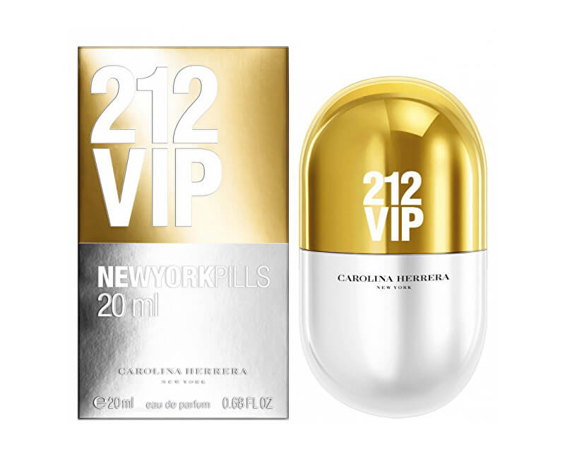 Carolina Herrera 212 VIP New York Pills - EDP