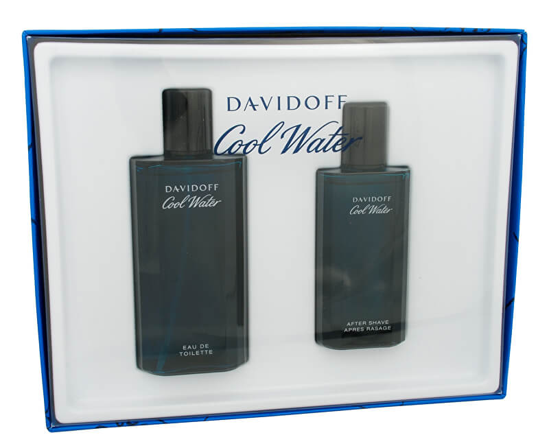 Davidoff Cool Water Man - EDT 125 ml + after shave 75 ml