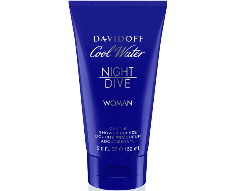 Davidoff Cool Water Night Dive For Women - sprchový gel