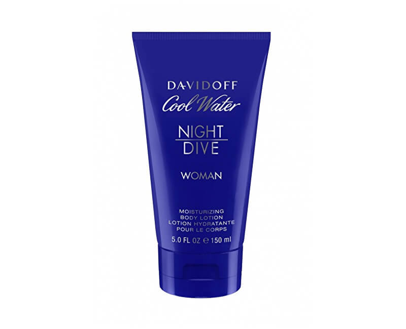 Davidoff Cool Water Night Dive For Women - tělové mléko