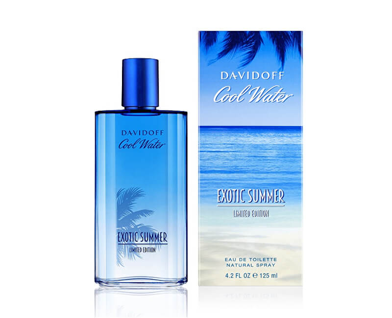 Davidoff Cool Water Summer Exotic Man - EDT - SLEVA - pomačkaná krabička