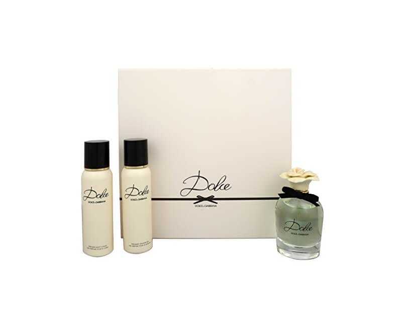 Dolce & Gabbana Dolce - EDP 75 ml + tělové mléko 100 ml + sprchový gel 100 ml