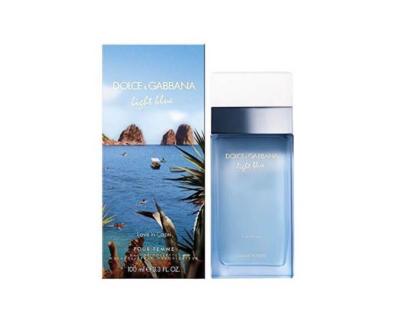 Dolce & Gabbana Light Blue Love In Capri Woman - EDT
