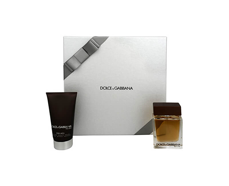 Dolce & Gabbana The One For Men - EDT 50 ml + balzám po holení 75 ml