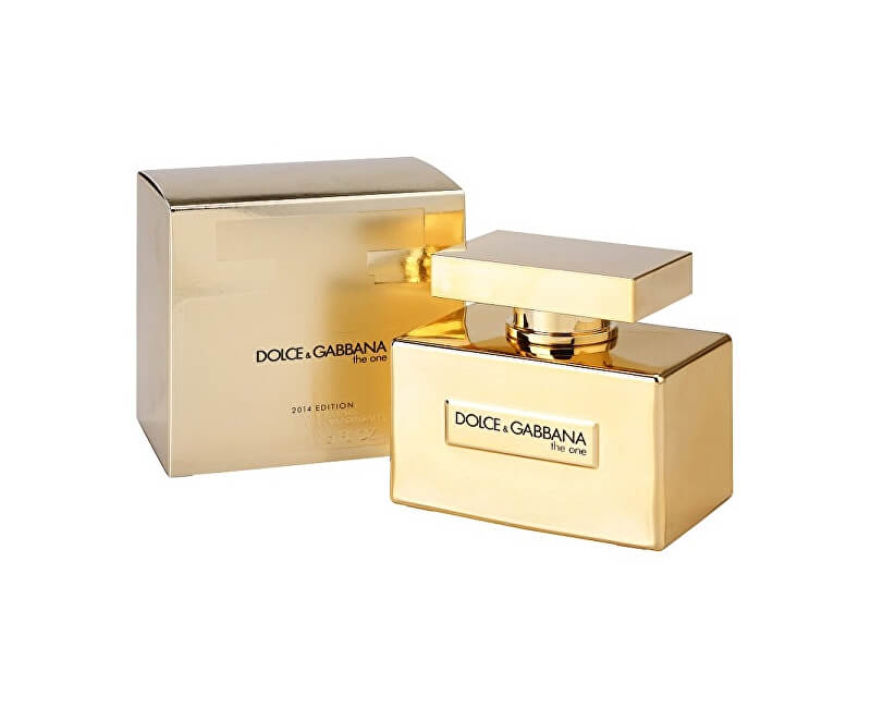 Dolce & Gabbana The One Gold Limited Edition - EDP - SLEVA - bez celofánu, chybí cca 1 ml