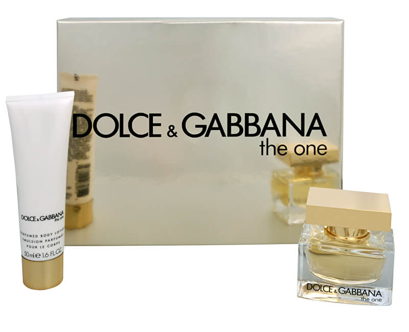 Dolce & Gabbana The One - EDP 30 ml + tělové mléko 50 ml