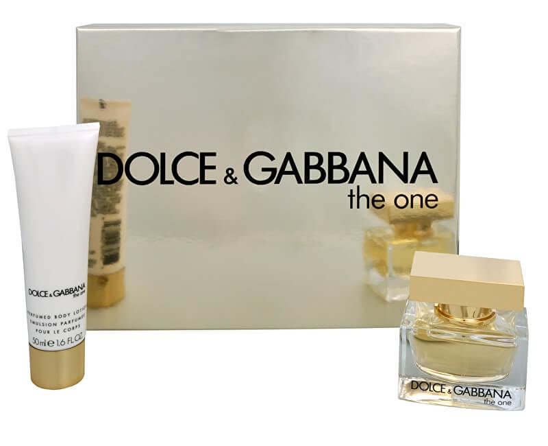 Dolce & Gabbana The One - EDP 30 ml + telové mlieko 50 ml